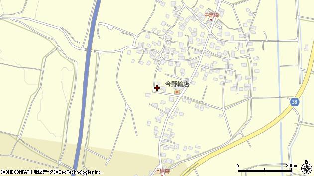 山形県酒田市黒森泊山43周辺の地図