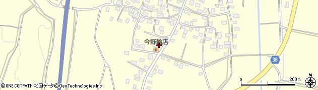 山形県酒田市黒森泊山72周辺の地図