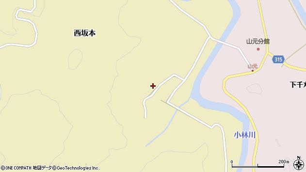 山形県酒田市西坂本村地22周辺の地図