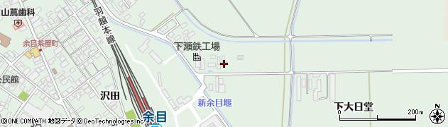 山形県東田川郡庄内町余目月屋敷195周辺の地図