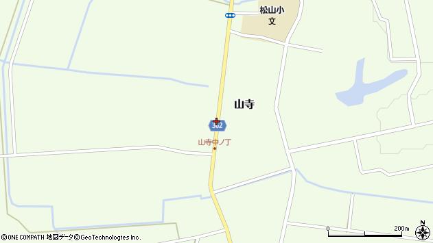 山形県酒田市山寺宅地131周辺の地図