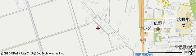 山形県酒田市広野大日塚108周辺の地図