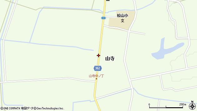 山形県酒田市山寺宅地139周辺の地図