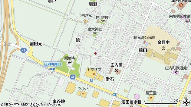 山形県東田川郡庄内町余目猿田153周辺の地図
