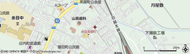 山形県東田川郡庄内町余目沢田97周辺の地図