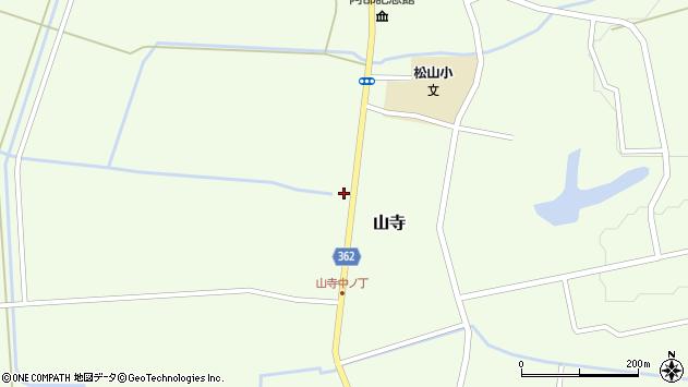 山形県酒田市山寺宅地145周辺の地図