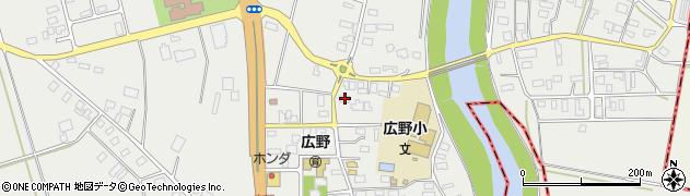 山形県酒田市広野中通91周辺の地図