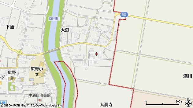 山形県酒田市広野大渕33周辺の地図