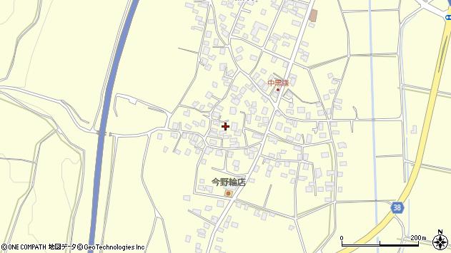山形県酒田市黒森村中102周辺の地図