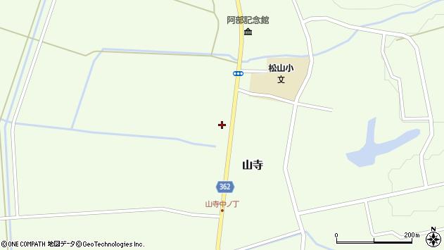 山形県酒田市山寺宅地150周辺の地図