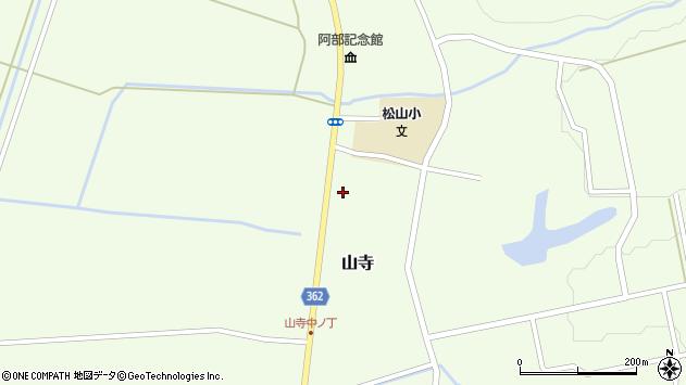 山形県酒田市山寺宅地152周辺の地図