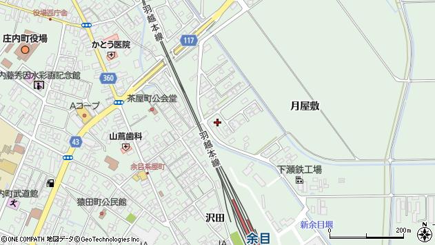 山形県東田川郡庄内町余目月屋敷229周辺の地図