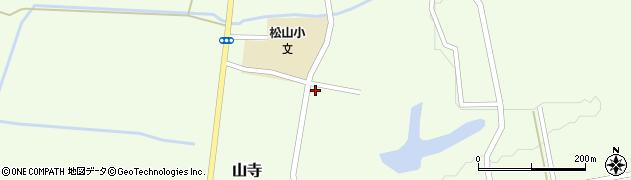 山形県酒田市山寺見初沢150周辺の地図
