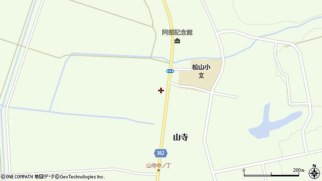 山形県酒田市山寺宅地158周辺の地図