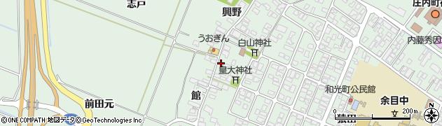 山形県東田川郡庄内町余目館52周辺の地図