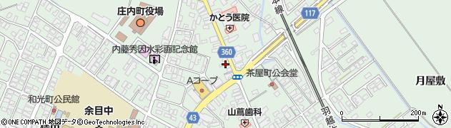 山形県東田川郡庄内町余目三人谷地76周辺の地図