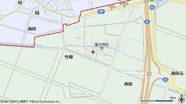 山形県東田川郡庄内町余目松岡41周辺の地図