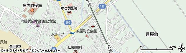 山形県東田川郡庄内町余目月屋敷276周辺の地図