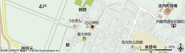 山形県東田川郡庄内町余目興野5周辺の地図