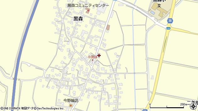 山形県酒田市黒森草刈谷地29周辺の地図