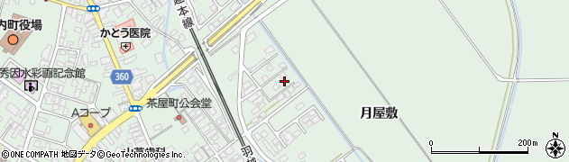 山形県東田川郡庄内町余目月屋敷176周辺の地図