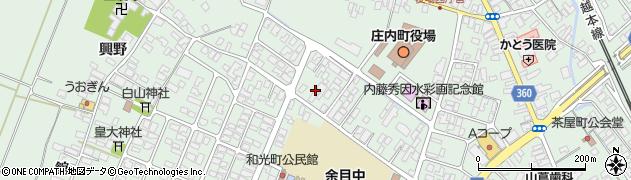 山形県東田川郡庄内町余目猿田7周辺の地図