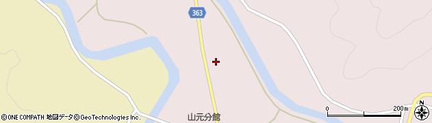 山形県酒田市山元横道周辺の地図