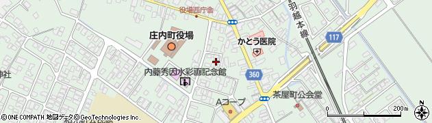 山形県東田川郡庄内町余目三人谷地145周辺の地図