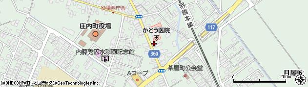 山形県東田川郡庄内町余目町15周辺の地図