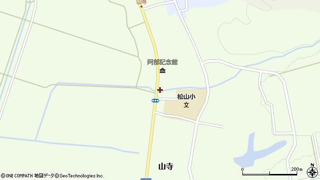 山形県酒田市山寺宅地170周辺の地図