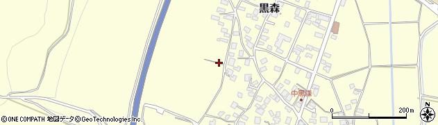 山形県酒田市黒森境山457周辺の地図