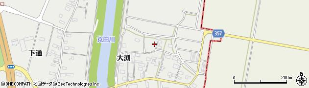 山形県酒田市広野大渕104周辺の地図
