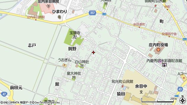 山形県東田川郡庄内町余目猿田64周辺の地図