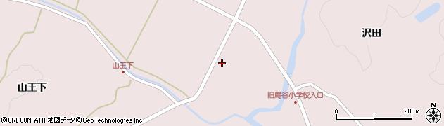 宮城県栗原市栗駒鳥沢畑山周辺の地図