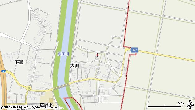 山形県酒田市広野大渕93周辺の地図