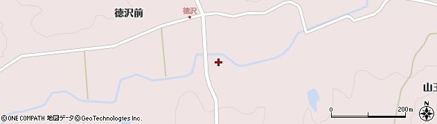 宮城県栗原市栗駒鳥沢五貫山周辺の地図