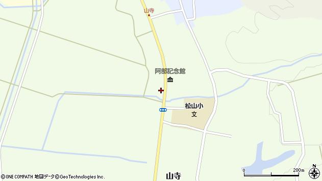 山形県酒田市山寺宅地175周辺の地図