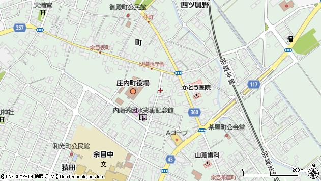 山形県東田川郡庄内町余目町128周辺の地図