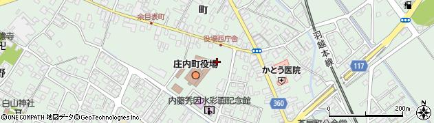 山形県東田川郡庄内町余目町132周辺の地図