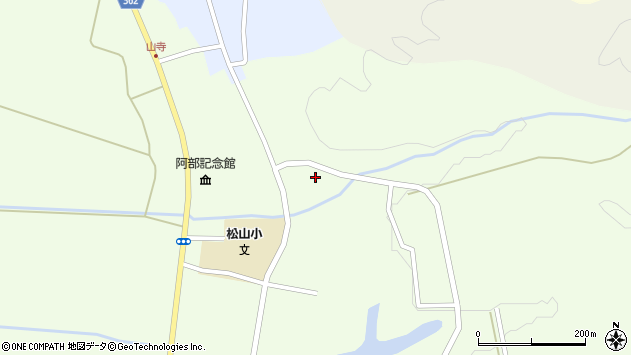山形県酒田市山寺笹山85周辺の地図