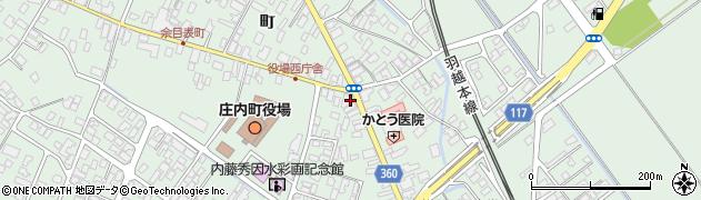 山形県東田川郡庄内町余目町23周辺の地図