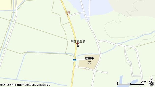 山形県酒田市山寺宅地188周辺の地図