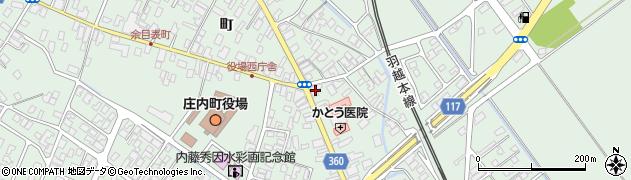 山形県東田川郡庄内町余目町24周辺の地図