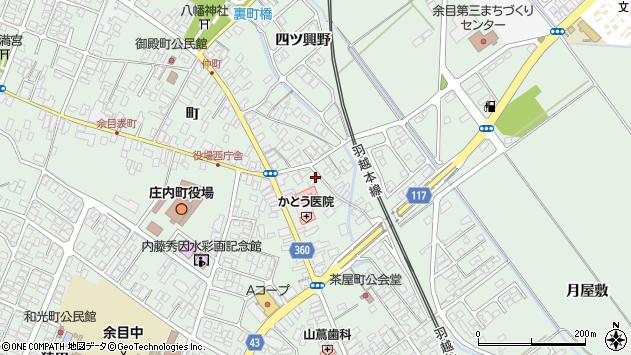 山形県東田川郡庄内町余目町28周辺の地図