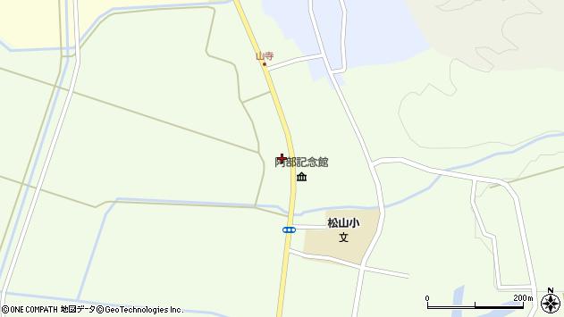 山形県酒田市山寺宅地191周辺の地図