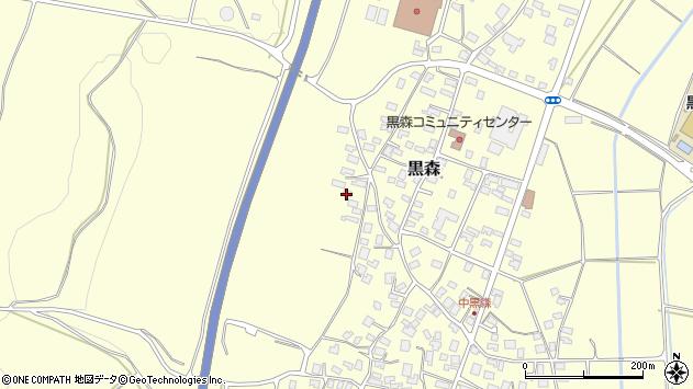 山形県酒田市黒森境山514周辺の地図