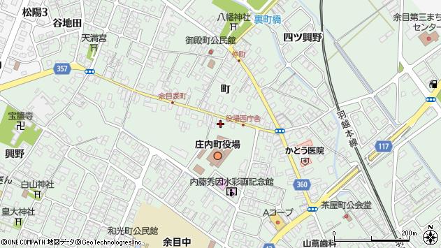 山形県東田川郡庄内町余目町136周辺の地図