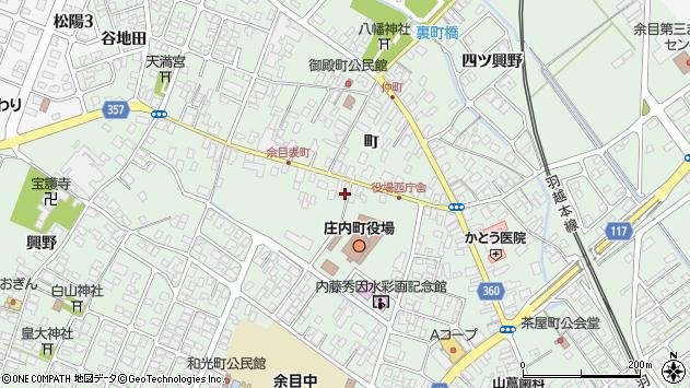 山形県東田川郡庄内町余目町141周辺の地図