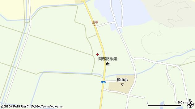 山形県酒田市山寺宅地198周辺の地図