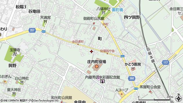 山形県東田川郡庄内町余目町142周辺の地図